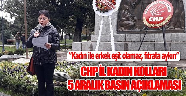 CHP`den Basın Açıklaması