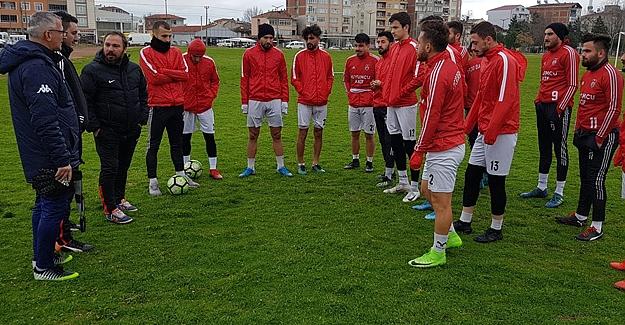 Bafraspor Evcispor Maçı Mesaisine Başladı