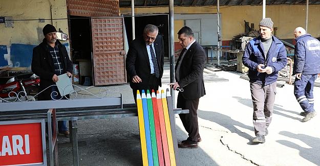 Bafra Belediyesi Üretiyor, Tasarruf Sağlıyor
