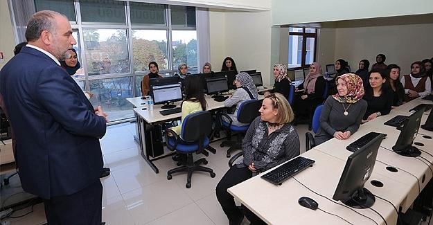 Canik'te eğitim seminerleri