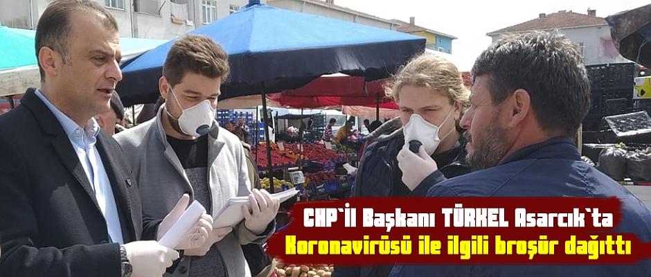 CHP İL Başkanlığı Acarcık`ta Broşür dağıttı