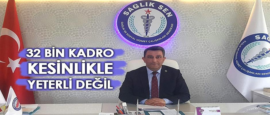 Sağlık Sen Samsun Başkanı İlyas Biçer`den Açıklama