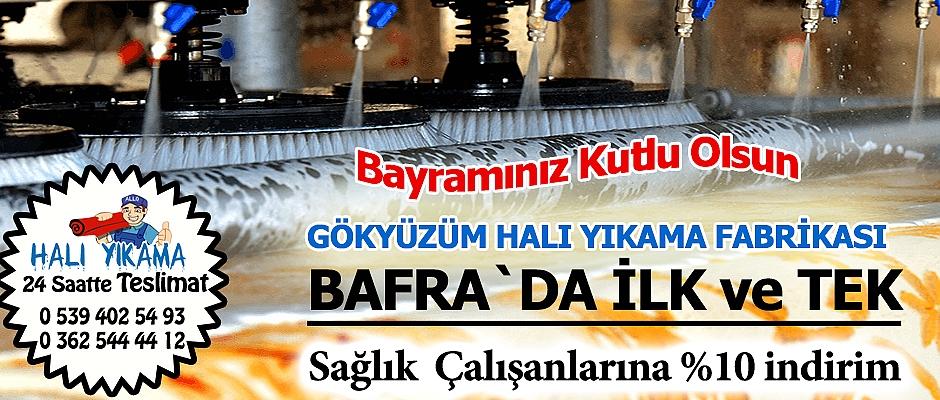 Bafra Gökyüzüm Halı Yıkama Ramazan Bayramı Mesajı