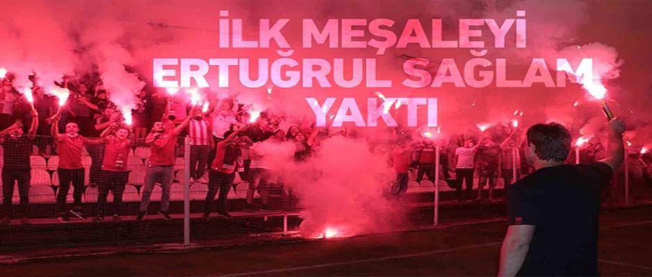 Samsunspor'un doğum gününü kutladı.