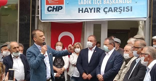 CHP Ladik`de Hayır Çarşısı Açtı