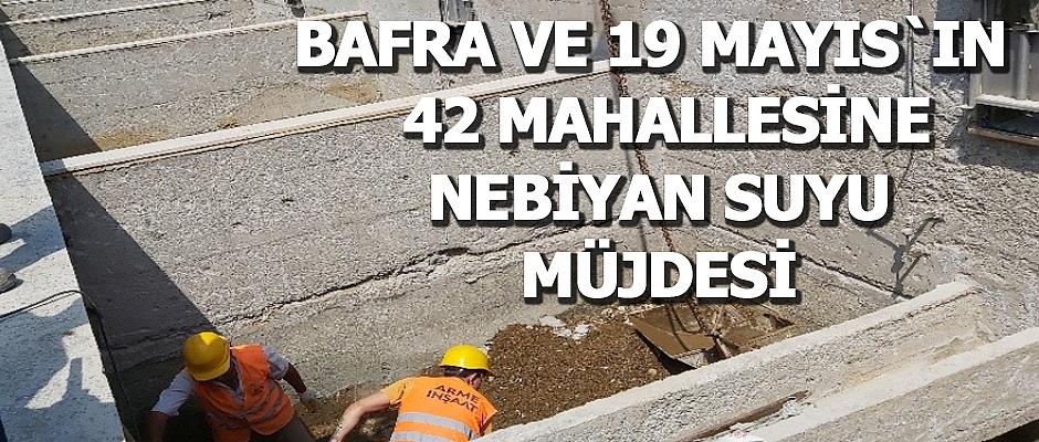 SASKİ' den 42 Mahallenin İçme Suyuna Köklü Çözüm