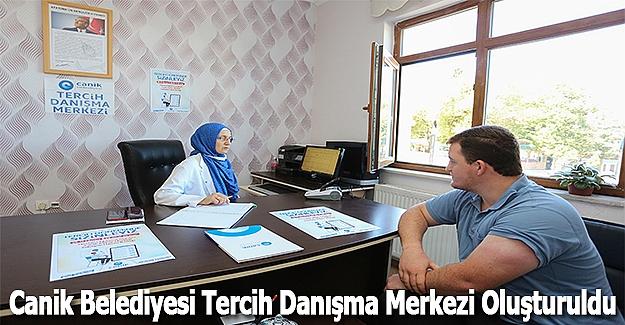 Canik Belediyesi Tercih Danışma Merkezi Oluşturuldu