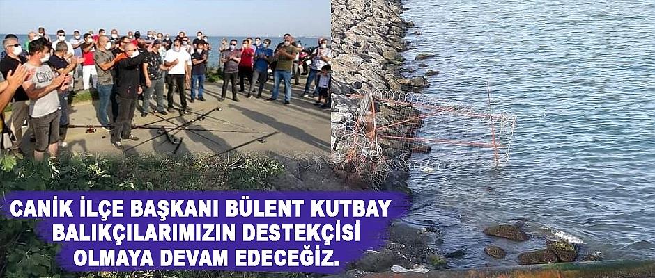 Olta Balıkçıları eylem yaptı