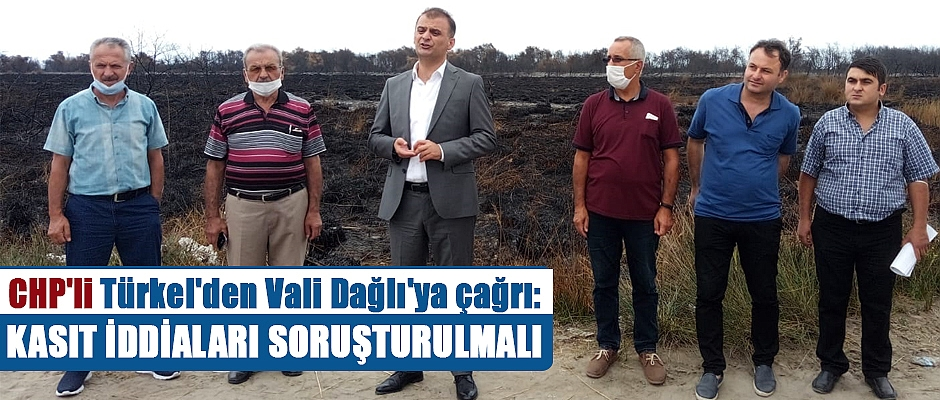 CHP'li Türkel Kuş Cenneti'nde incelemelerde bulundu