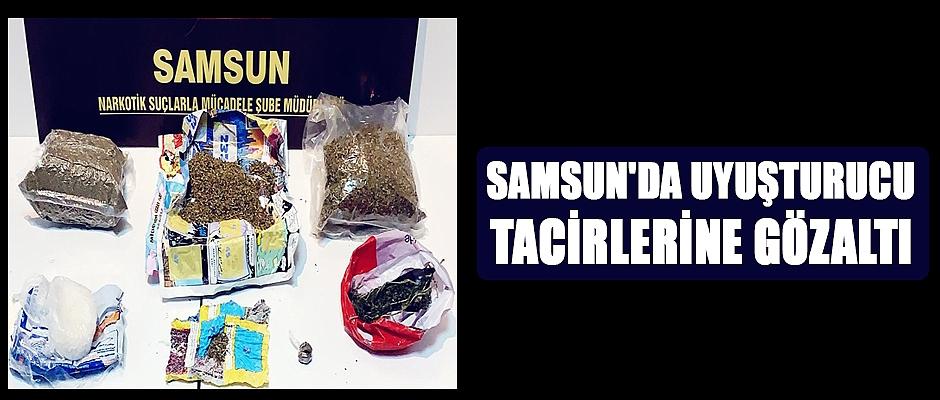 Samsun'da uyuşturucu tacirleri yakalandı