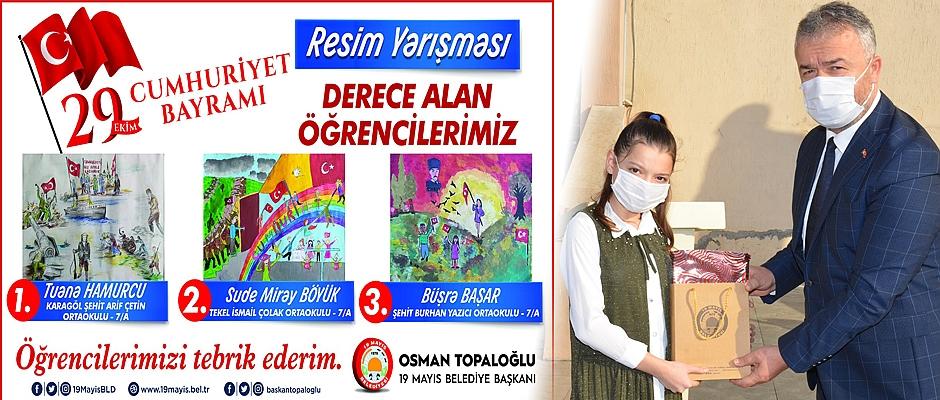29 Ekim Cumhuriyet Bayramı 19 Mayıs İlçesinde kutlandı.