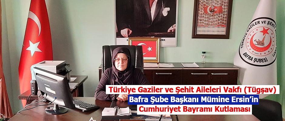 Başkan Ersin'in Cumhuriyet Bayramı Kutlama Mesajı