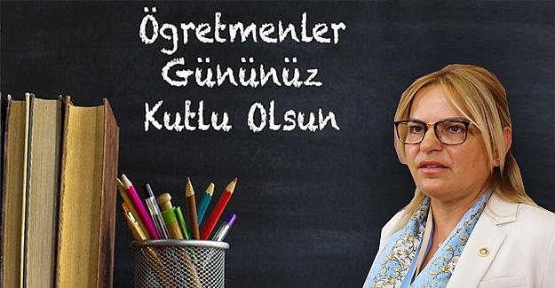 Hancıoğlu'nun 24 Kasım Öğretmenler Günü Mesajı