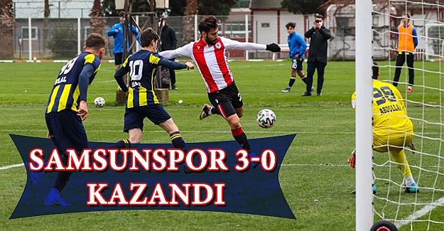 Samsunspor 3-0  Kazandı
