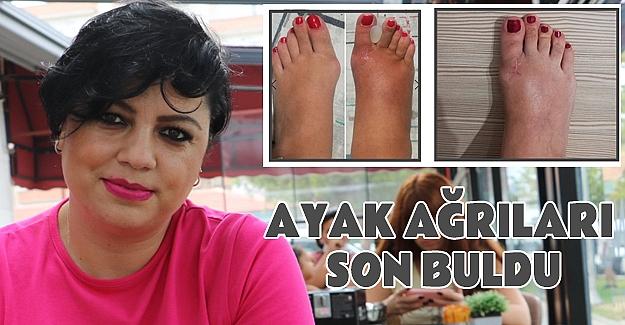 Anadolu Hastanesinde Ayak Ağrılarına Son Buldu