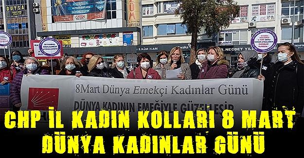 CHP İl Kadın Kolları 8 mart Basın Açıklaması
