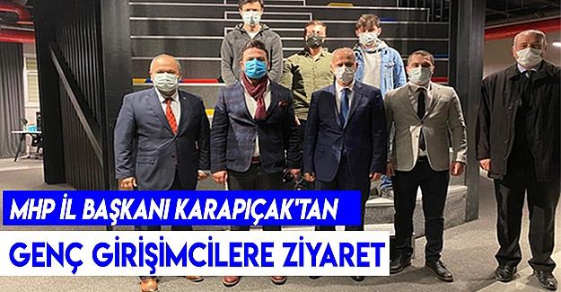 Mhp İl Başkanı Karapıçak'tan Genç Girişimcilere Ziyaret.