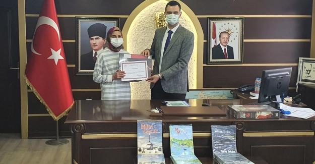 Asarcık YBO'ya pandemi yarışma ödülü