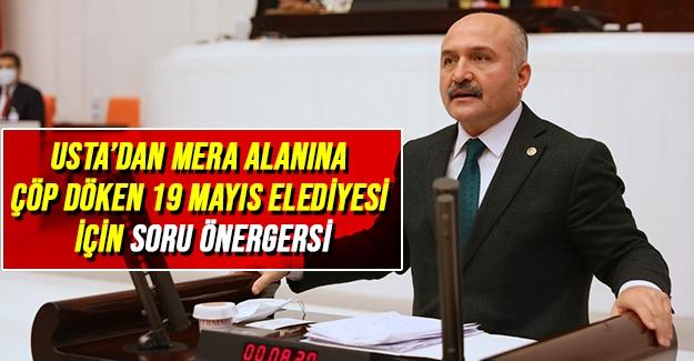 Usta'dan 19 Mayıs Belediyesine Önerge