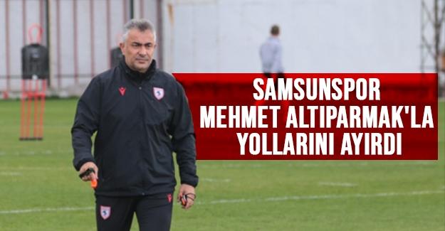 Mehmet Altıparmak'la yollar ayrıldı