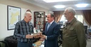 Başkan Yılmaz ve Vali Şahinde Hicaz Demiryolu' na ziyaret.