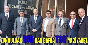 Zonguldak TSO`dan Bafra TSO`ya Ziyaret