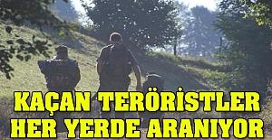 Ordu'da kaçan teröristler aranıyor
