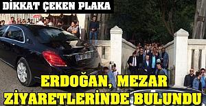 Cumhurbaşkanı Erdoğan mezar ziyaretlerinde bulundu