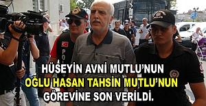Eski İstanbul Valisi Mutlu'nun oğluna ŞOK