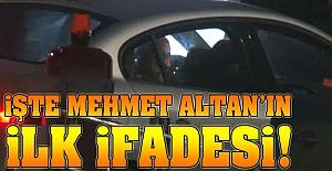 İşte Mehmet Altan'ın ilk ifadesi