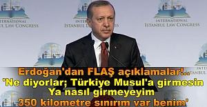 """Erdoğan: """"BİZ OPERASYONUNDA DA OLACAĞIZ, BİZ MASADA DA OLACAĞIZ"""""""