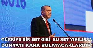 Erdoğan'dan terör uyarısı