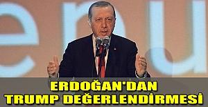 Erdoğan'dan Trump değerlendirmesi