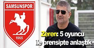 Samsunspor'dan 5 transfer