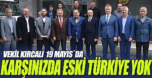 Vekil Kırcalı 19 Mayıs`da Ziyaretlerde bulundu