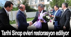 Tarihi Sinop evleri restorasyon ediliyor