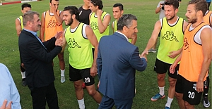 Fuat Köktaş'dan Samsunspor'a destek