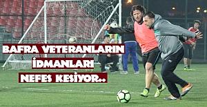 BAFRA VETERANLARIN İDMANLARI NEFES KESİYOR..