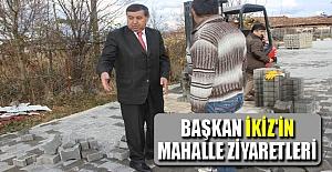 Başkan İkiz'in mahalle ziyaretleri