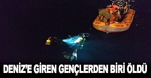Deniz'e giren iki öğrenciden biri boğuldu