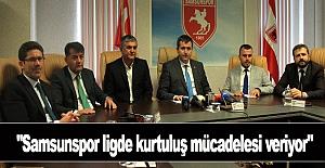 Samsunspor ligde kurtuluş mücadelesi veriyor