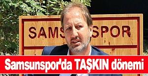 Samsunspor'da Taner Taşkın dönemi başladı