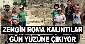 Sinop'ta Roma kalıntıları gün yüzüne çıkıyor