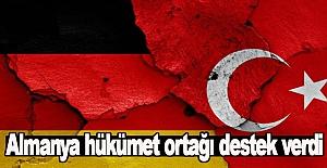 Almanya'dan Türkiye'ye destek geldi