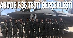 F-35 ile ilk uçuş gerçekleşti