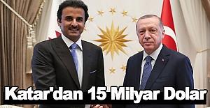 Katar'dan 15 Milyar Dolar yatırım sözü