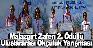 Malazgirt Zaferi 2. Ödüllü Uluslararası Okçuluk Yarışması