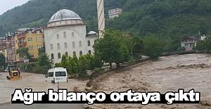 Ordu'daki Sel felaketinin bilançosu ortaya çıktı