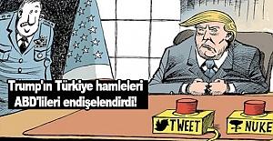 Trump'ın Türkiye hamleleri ABD'lileri endişelendirdi!