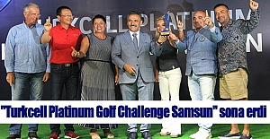 Turkcell Platinum Golf Challenge Samsun sona erdi